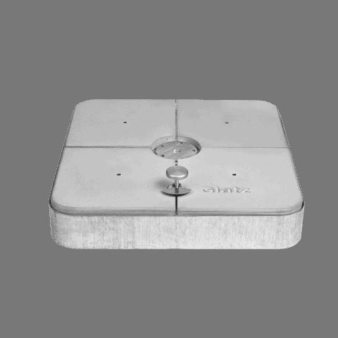 Rollsockel Beton M4